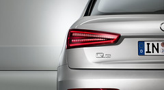 New Audi Q3 Rear View LED Tail Light (M25 Audi) Tags: new ice silver lights exterior view tail led audi q3 paintwork