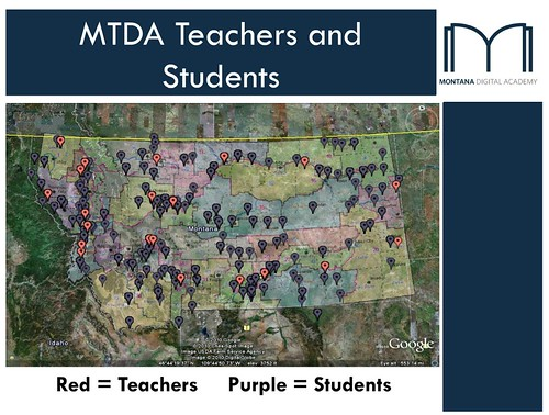 Montana Virtual Teachers and Students: 2011-2012