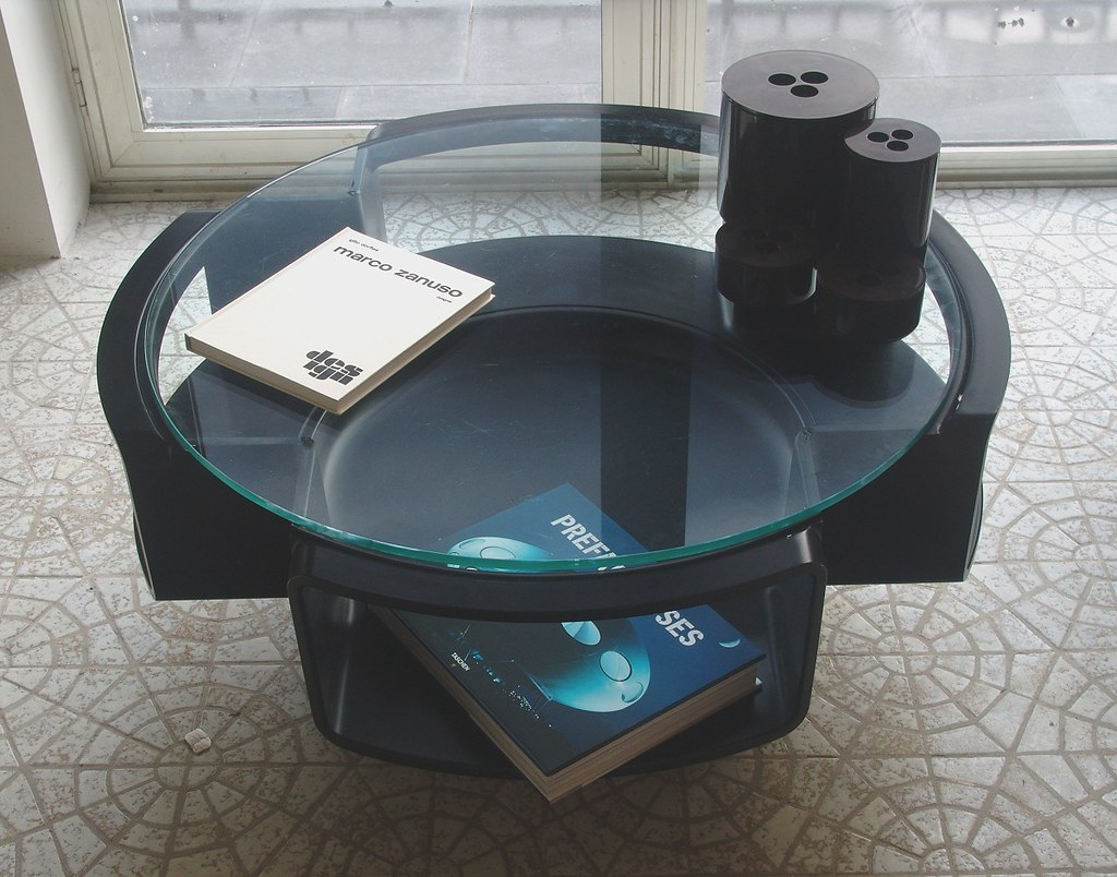 UFO table, Crayonne set and books