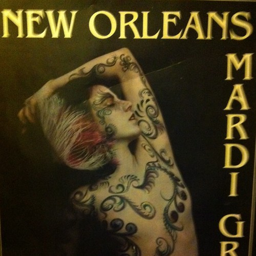 Mardi Gras 1983 poster. I covet it.