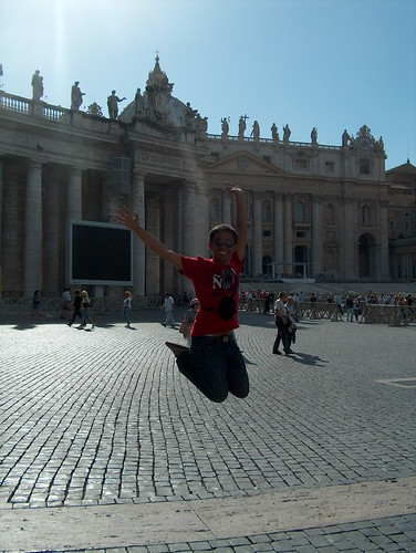 Vatican City - Jumping shot
