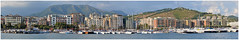Salerno Panorama (Sabrina Campagna) Tags: sea italy panorama seascape port landscape nikon italia campania sigma commerciale porto concordia stitching piazza salerno 70300 turistico f456 d5100