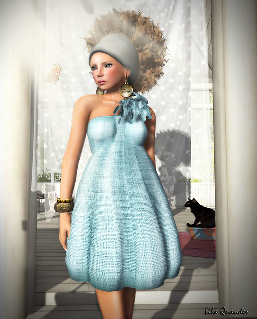 CHANTKARE KAPADA DRESS - Robin Blue