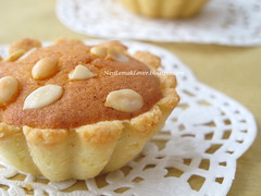 Butter cake tarts