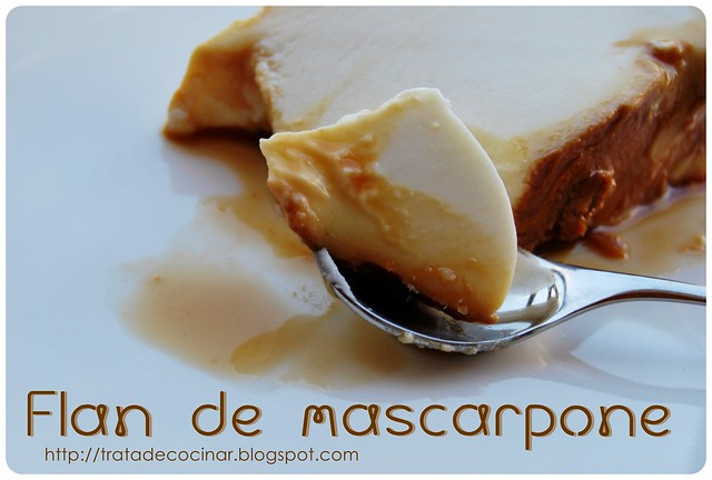 Flan mascarpone