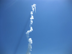 Atlas 5 Launch Plume Shadow