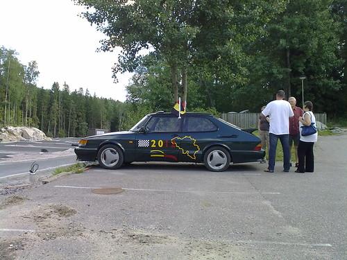 IntSaab 2011 Finland, pre tour