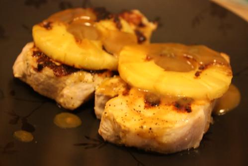 Pineapple pork chops1