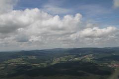 Wolken und Himmel im August 2011 (pilot_micha) Tags: summer sky clouds germany bayern deutschland bavaria sommer himmel wolke aerialview august luftbild unterfranken aerialpicture airpicture rhngrabfeld 682011
