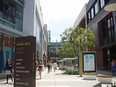 Santa Monica Place Shopping Center (lucre101) Tags: life california santa city travel vacation urban usa sun tourism cali america shopping fun los place pacific legs angeles sunny center skirt tourist exotic monica cal bloomindales so