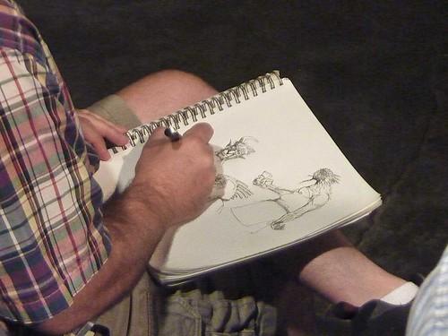 P1130463-2011-08-06-Gather-Atlanta-Ben-Goldman-drawing