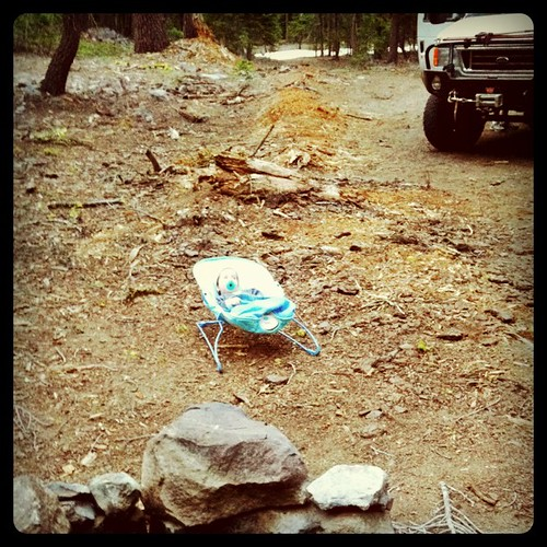 Camping at Mt Shasta