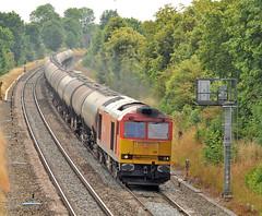 Saturday Oily Tugs; part 3; 60011 (robmcrorie) Tags: train rail railway loco trains class oil locomotive enthusiast lindsey tug railways railfan freight 60 warwickshire kingsbury dbs emr ews westerleigh 60011 6e41