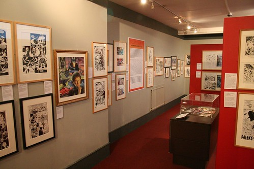 Dr Who Comic Exhibition at the Cartoon Museum