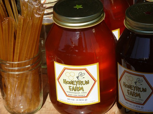 Honey from Honeyrun Farm