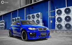 X6 - HAMANN | Blue Magic [Explored] (Tareq Abuhajjaj | Photography & Design) Tags: blue light red sky bw orange moon white black green car sport yellow night race speed dark photography lights design photo big high nice nikon flickr italia nissan power top magic wheels royal fast gear turbo saudi arabia bmw manual carbon fiber rims riyadh v8  2010 ksa hamann x6 tareq alreem    d700   foilacar tareqdesigncom tareqmoon tareqdesign  abuhajjaj