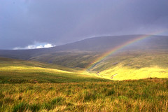 Rainbow_Black Mountain (Leighton Evans) Tags: mountain colour clouds landscape rainbow nikon kitlens naturallight breconbeacons 1855mm blackmountain stormclouds nikkor1855mm ammanvalley brynamman nikond3100