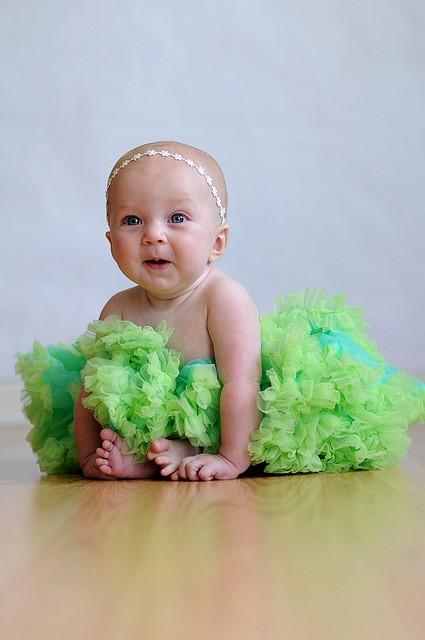 Evie green tutu