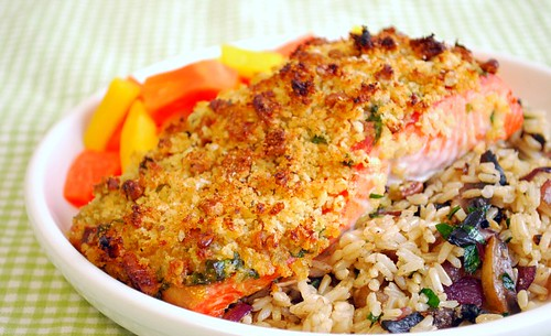 Article first published as Baked Dijon Salmon on Blogcritics.
