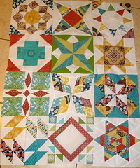 Summer Sampler Almost finished