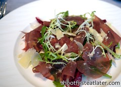 "Tosca at the Ritz-Carlton Hong Kong- Beef Sirloin ""Bresaola"" (Shoot First, Eat Later) Tags: hongkong hotel italianfood tallesthotel"