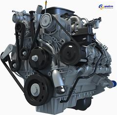 2011 Duramax Diesel 6.6L V8 Turbo Engine