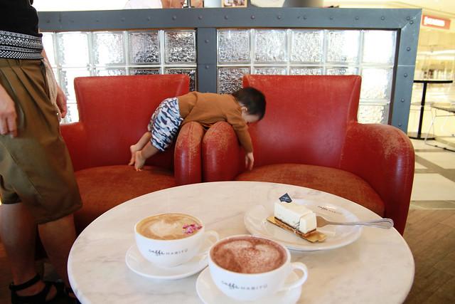 Baby M at Caffe Habitu