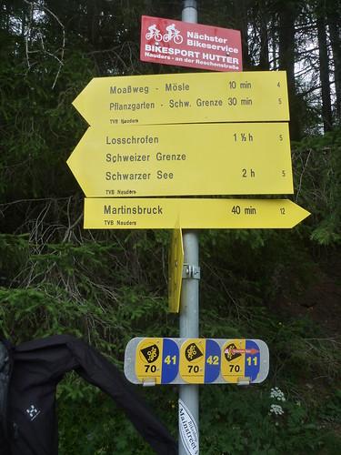 Schweizer Grenze i sikte