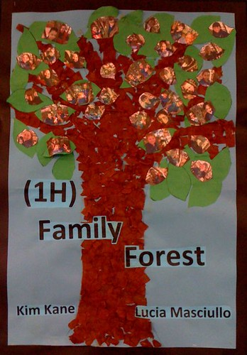 Family forest display