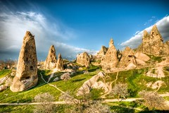 Cappadocia, Turkey (Nejdet Duzen) Tags: trip travel mountain nature turkey view trkiye cappadocia greme da manzara kapadokya rgp turkei seyahat doa thebestofday gnneniyisi saariysqualitypictures mygearandme ringexcellence
