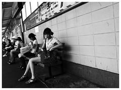 At platform. (Delytayan Third) Tags: station japan 日本 yokohama kanagawa 横浜 駅 神奈川
