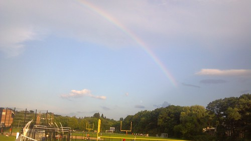 Rainbow at Newton South HS