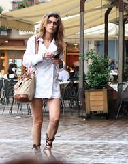 Como Girl (JN_pro_account) Tags: people italy lake como rain umbrella lago italian italia cathedral police umbrellas lakecomo cafes lagodicomo