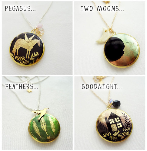 New lockets for August...