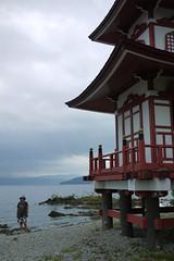 Alicia at Lake Toya, Hokkaido, Japan