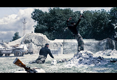 RB-2363 (Robert Bridgens) Tags: winter snow ww2 airborne reenactment panzer execution ksk bastogne bandofbrothers warpeace mg42 stug k98 mg34 stahlkrieger beltring2011