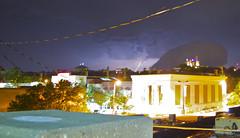 masonic (davedehetre) Tags: sky storm night temple lawrence masonic kansas thunderstorm lightning f28 14mm samyang