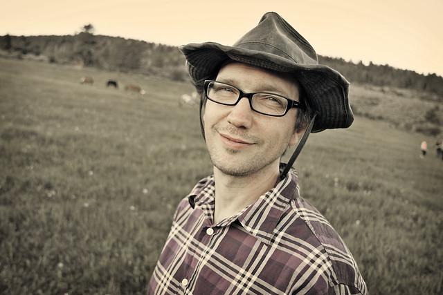 Black Mountain Colorado Dude Ranch bugfrog man smile