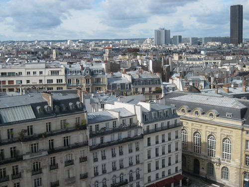 View of Paris From Pantheon