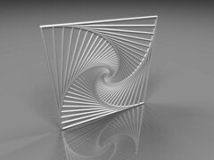 spiral (fdecomite) Tags: square spiral math povray