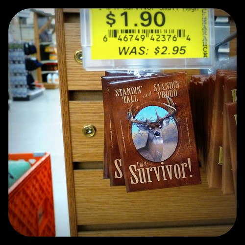 Hunting Season - Survivor... ironic? Magnet photo by tbone_sandwich