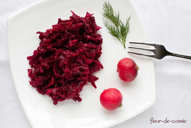 свекольный салат по-фински