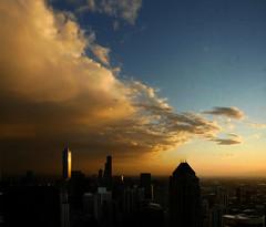 Chicago Loop And Sky 2 by doug.siefken