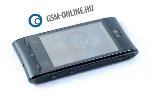 LG Optimus GT540 fektetve