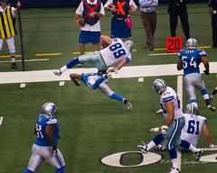 Phillips gets wiped out (TxSportsPix) Tags: cowboys arlington canon dallas football nfl dallascowboys detroitlions canon7d txsportspix