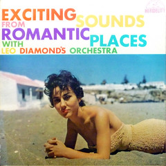 What sort of sounds come from YOUR romantic places? (epiclectic) Tags: music art beach vintage sand album vinyl cheesecake retro chick collection jacket cover lp record nic sleeve leodiamond epiclectic safesafe