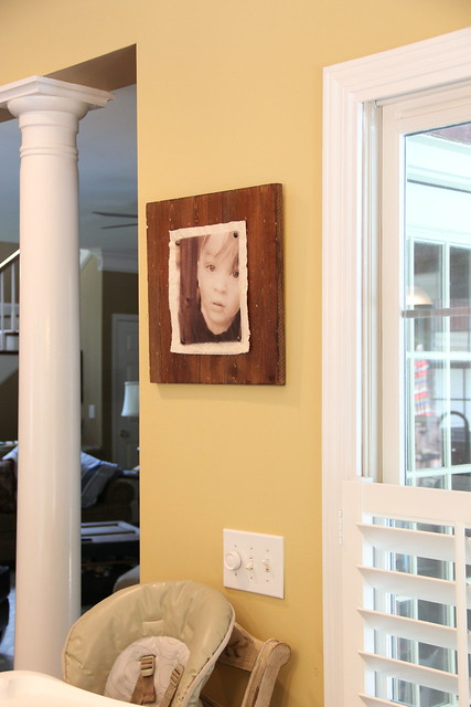 encaustic photo frame