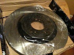 car brake rotor centric