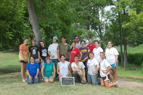 The fine Archaeology in Annapolis field school crew, 2011. Source: Benjamin Skolnik