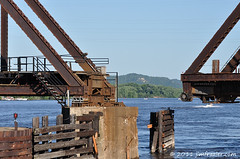 La Crosse Rail Bridge Closes After We Pass